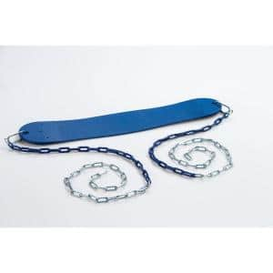 Standard Swing Seat with Chains- Blue