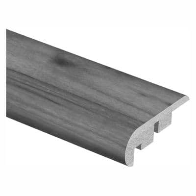 Crestwood Gray Oak/Dowden 3/4 in. Thick x 2-1/8 in. Wide x 94 in. Length Laminate Stair Nose Molding