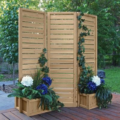 5' x 5' Wood Privacy Screen
