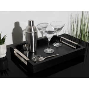 Heller Black Decorative Tray