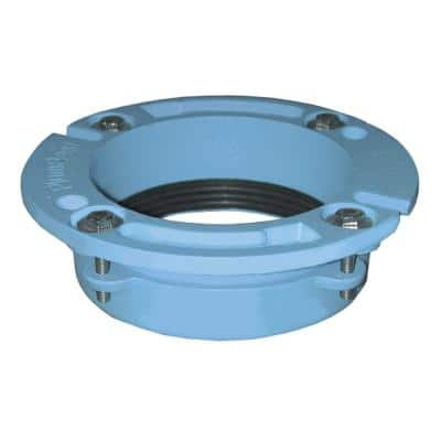 4 in. x 3 in. Push on Cast Iron Closet Flange