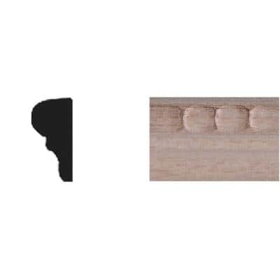 5/16 in. x 11/16 in. x 4 ft. Basswood Tinytrim Panel Moulding