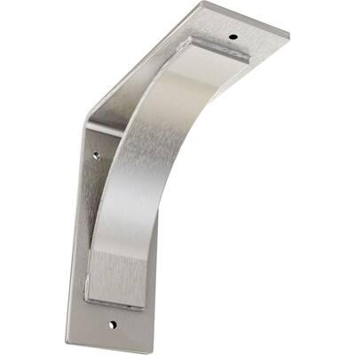 3 in. W x 8 in. H x 8 in. D Stainless Morris Steel Bracket