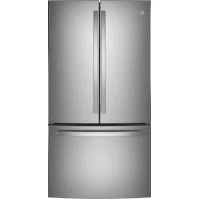 Profile 23.1 cu. ft. French Door Refrigerator in Fingerprint Resistant Stainless Steel, ENERGY STAR and Counter Depth