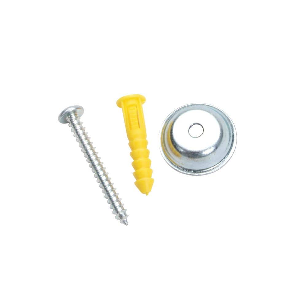 """12 sets Pegboard Mounting Hardware 1//8/"""" with wall anchor spacer and screws"""