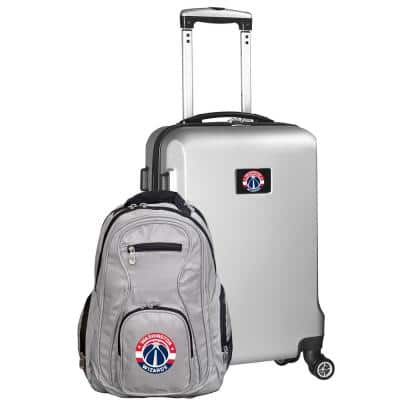 Washington Wizards Deluxe 2-Piece Backpack and Carry on Set