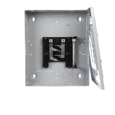 EQ 125 Amp 8-Space 16-Circuit Indoor Main Lug Surface Mount Load Center