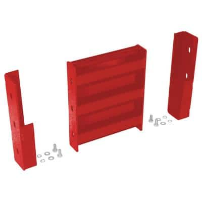 1 ft. Red Drop-In Style Guard Rail