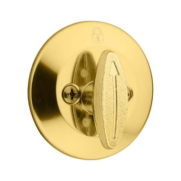 Kwikset Replacement 660 Series Deadbolt Polished Brass CYLINDER ONLY #7a4