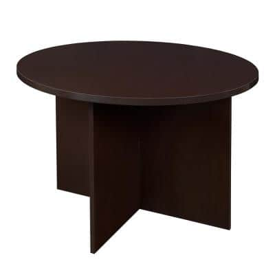 Mod Truffle 42 in. Round Table