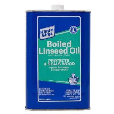 1 qt. Boiled Linseed Oil