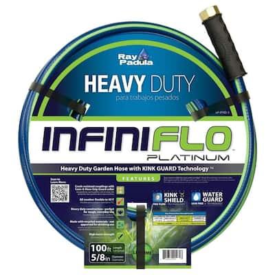 InfiniFlo 5/8 in. Dia x 100 ft. Heavy Duty Garden Hose