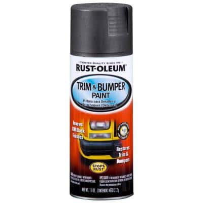 11 oz. Matte Black Trim and Bumper Spray Paint
