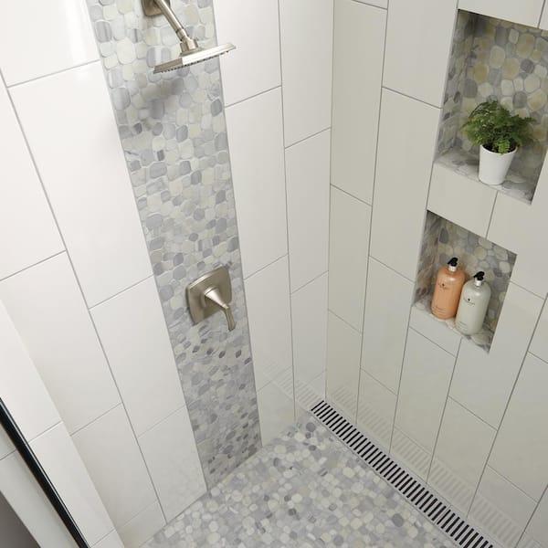 Daltile Restore Bright White 8 In X 24 In Ceramic Wall Tile 13 3 Sq Ft Case Re15824hd1p2 The Home Depot