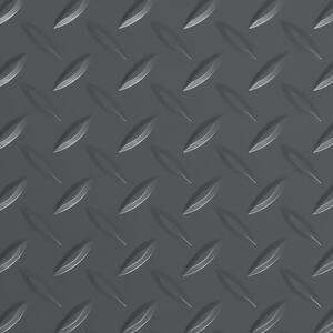 Diamond Tread 8.5 ft. x 24 ft. Slate Grey Vinyl Garage Flooring Cover and Protector