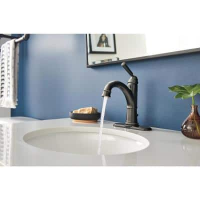 Westchester Single Hole Single-Handle Bathroom Faucet in Oil Rubbed Bronze