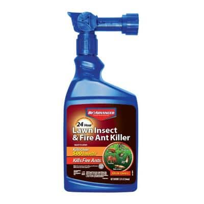 32 oz. Ready to Spray 24-Hour Lawn Insect and Fire Ant Killer