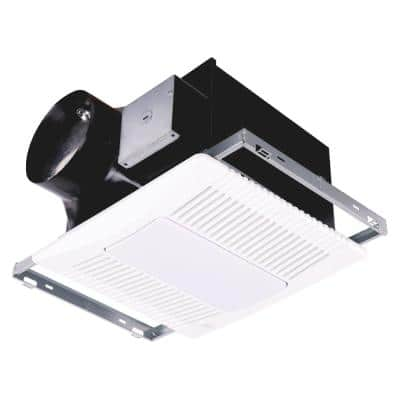 140 CFM Ceiling/Wall Bathroom Exhaust Fan with LED Light and Motion Sense, ENERGY STAR