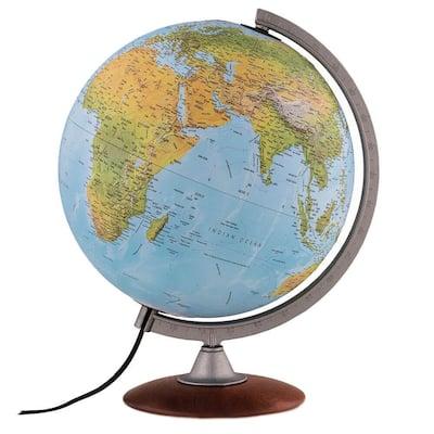 Tactile 12 in. Raised Relief Desktop Globe