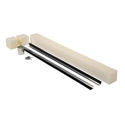 110 in. Pit Weather Stripping with 1.5 in. Replaceable Brush