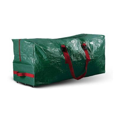 Green Waterproof Artificial Tree Storage Bag for Trees Up to 9 ft. Tall