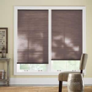 Home Decorators Collection Chocolate Cordless Light Filtering Cellular Shade 30 125 In W X 48 In L 10793478852420 The Home Depot