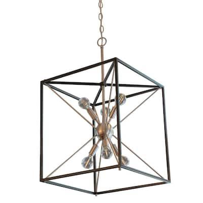 Sadler 6-Light Stainless Steel Pendant