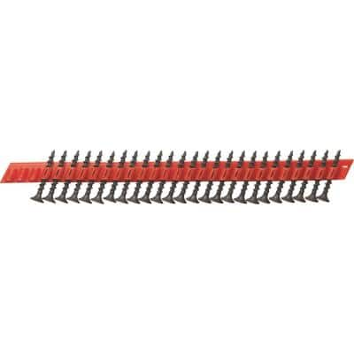 #2 x 1-5/8 in. Phosphate Plated Bugle Head Stitch Point Collated Drywall Screw (5000-Pack)