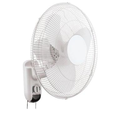 16 in. Oscillating Wall Mount Fan