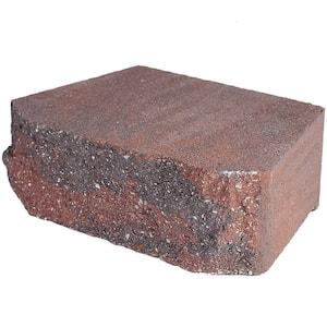 4 in. x 11.75 in. x 6.75 in. Oaks Blend Concrete Retaining Wall Block (144 Pcs. / 46.5 Face ft. / Pallet)