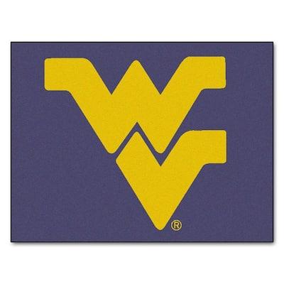 West Virginia University 3 ft. x 4 ft. All-Star Rug