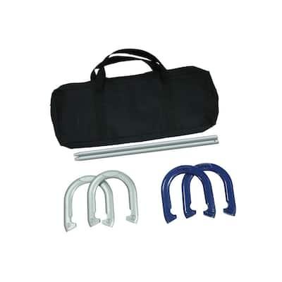 Pro Horseshoe Set Powder Coated Steel with Carry Case