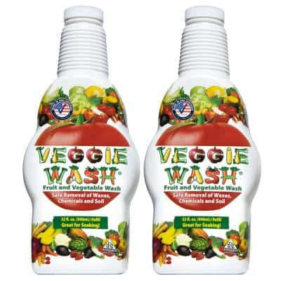 32 oz. All Natural Fruit and Vegetable Wash (2-Pack)