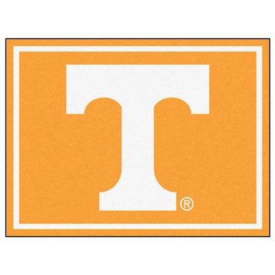 NCAA University of Tennessee Orange 8 ft. x 10 ft. Indoor Area Rug