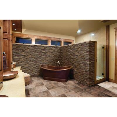California Gold Ledger Corner 6 in. x 6 in. Natural Slate Wall Tile (2 sq. ft./Case)