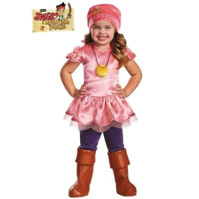 Large Izzy Deluxe Jake and the Neverland Pirate Costume