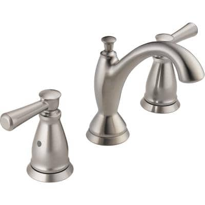 Linden 8 in. Widespread 2-Handle Bathroom Faucet in Stainless