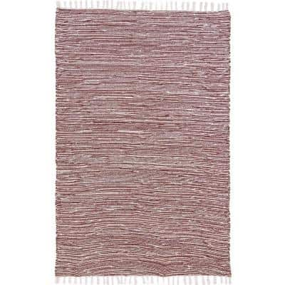 Brown Chenille 10 ft. x 14 ft. Area Rug