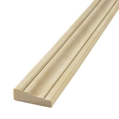 HD 356 11/16 in. x 2-1/4 in. x 144 in. Polyurethane Flexible Straight Casing