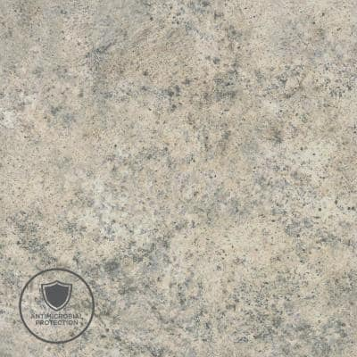 2 in. x 3 in. Laminate Sheet Sample in Madura Pearl with Premium Quarry Finish