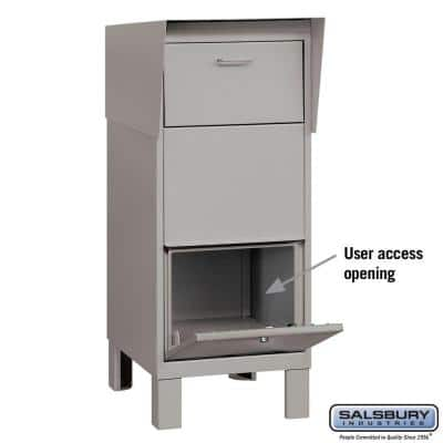 4900 Series Courier Box in Gray