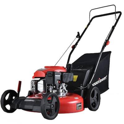 21 in. 3-in-1 170 cc Gas Walk Behind Lawn Mower