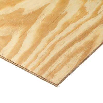 Plywood Siding Panel No Groove (Common: 11/32 in. x 4 ft. x 8 ft.; Actual: 0.313 in. x 48 in. x 96 in.)