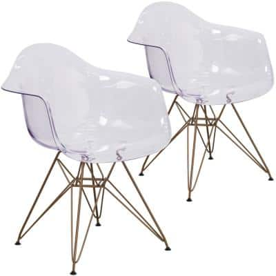 Clear Ghost Chairs (Set of 2)