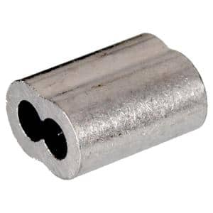3/16 in. Cable Ferrule in Aluminum (25-Pack)