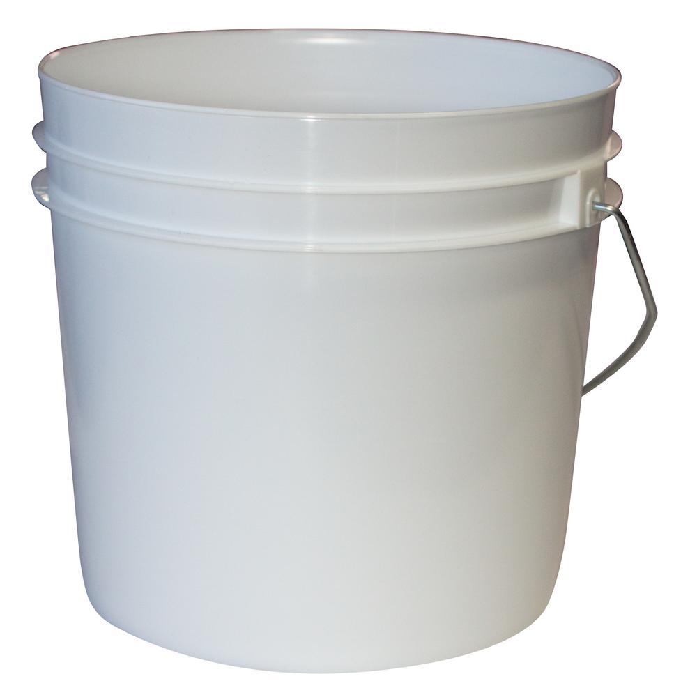 1 Gal. White Bucket (10-Pack)