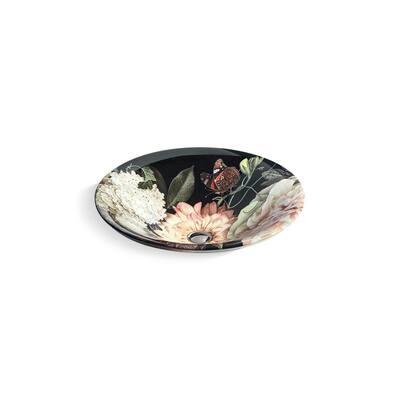 Dutchmaster Round Vessel Sink in Blush Floral