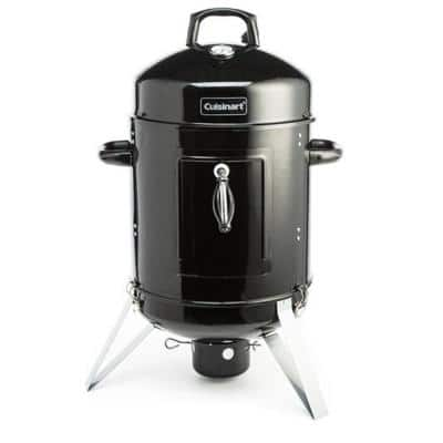 Vertical 16 in. Charcoal Smoker and Grill