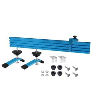 Woodworking Fence Kit for T-Slot Drill Press Table Tops