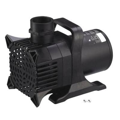 Maxflo 16,000 - 4,000 GPH Pond and Waterfall Pump for Water Gardening
